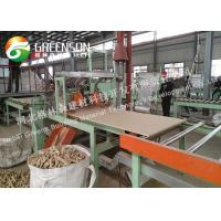 Quality High Density Fireproof Mineral Wool Board Production Line With Coal , Gas , Oil Fuel for sale
