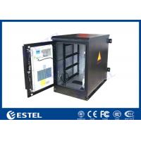 Quality Heat Insulated Wall Mount Steel Outdoor Telecom Cabinet With Air Conditioner Cooling for sale
