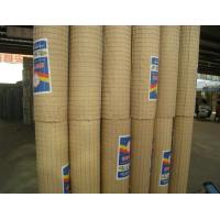 Quality PVC Coated Wire Mesh Rolls 3mm / 4mm Thickness Galvanised Welded Wire Mesh Panels for sale