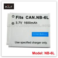 Quality Camera battery NB-6L for Canon for sale