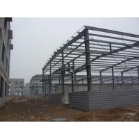 Quality Customized Steel Building Structures With H Shape Beams / Columns for sale