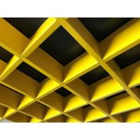 Quality Metal Grid False Aluminum Open Cell Ceiling 100 x 100 Decorative RAL Color for sale