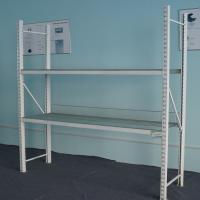 China Heavy Duty Warehouse Rack And Shelf Metal Storage Shelves Without Wheels on sale