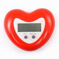 Quality LCD Alarm Clock with Magnetite Back for sale