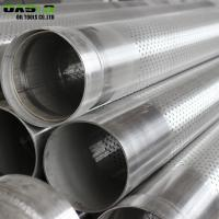 Quality Corrosion Resistance Perforated Stainless Steel Pipe 80 - 1000um Thickness for sale