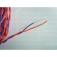 China Cabinet Cables Purple/Orange Telephone Cable 0.65MM Tined copper PVC +Nylon jacket Twisted on sale