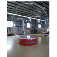 Best 0.8 Mm Transparent PVC Ball Custom Inflatable Products With Base wholesale