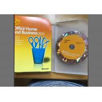 Quality 32/64 Bit Office 2010 Home And Student Box , Multi - Language Word Activation Key for sale