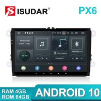 Quality 9 Inch Android 10 Radio Car DVD Player for VW for sale