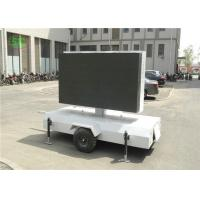 Quality lR1G1B p4.81 Outdoor led mobile digital advertising sign trailer,truck mounted led display for sale