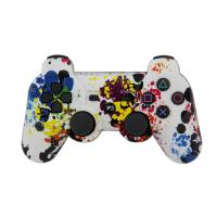 Quality Wireless Bluetooth Playstation Game Controller Remote Game Joypad ABS Material for sale