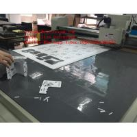 Quality Graphic Foamed PVC Sign Camera Registration Sample Digital Cutting Table for sale