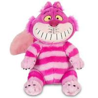 Quality Sitting Pose Pink Cheshire Cat Plush Toys for sale