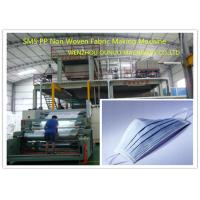 Quality Multi - Function PP Non Woven Fabric Making Machine 1600mm Width CE Certification for sale