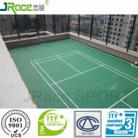Quality good impact resistance badminton court covering material for sale