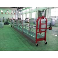 Quality Pin Type Aluminum Hanging Scaffold Systems Gondola ZLP800 With 100M Working Height for sale