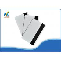 China Inkjet Print PVC Magnetic Strip Card on sale