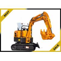 Buy 800kg Crawler Hydraulic Excavator 340mm Bucket Width , Road Digging Machine For Farm Use at wholesale prices