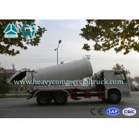 Quality High Efficiency Sewer Cleaning Truck  , Septic Tank Pumping Truck 8 CBM -12 CBM for sale