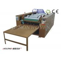 China Customized 4 Colors Non Woven Bag Printing Machine With 1500~4500pcs/h Length 1200mm on sale
