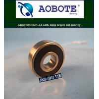 Quality Deep Groove Japan NTN Ball Bearings 607 LLB C35L , Small Friction for sale
