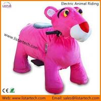 China Indoor Playground Equipment Animated Plush Toy Electric Horse Ride for Kids & Adult on sale