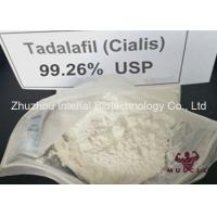 Quality Legit Raw Tadalafil Steroid Powder / Cialis CAS 171596-29-5 Treatment Male Erectile Dysfunction for sale