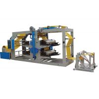 Quality Woven Cloth Tube Flexographic Printing Machine / Aniline Printing Machine High Speed Running for sale