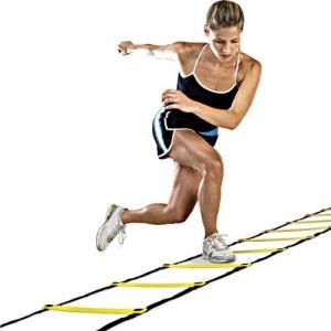 Fitness,GYM equipment,Speed Agility Footwork Training Drill Ladder , item# AL01