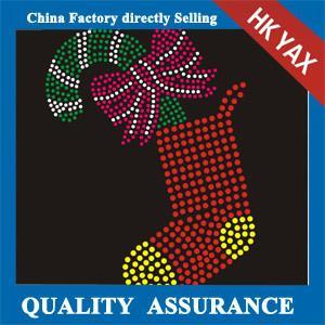 D0929 New design hotfix rhinestone motif ;china hotfix motif ;wholesale cheap hotfix motif for christmas