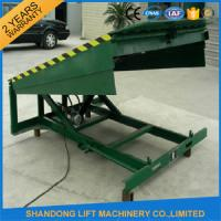 Quality 8 Ton Steel Yard Ramp Truck Loading Dock Leveler for sale