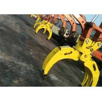 Quality Wood Grapple / Stone Grapple Backhoe Grapple Attachments For Structure Demolition for sale