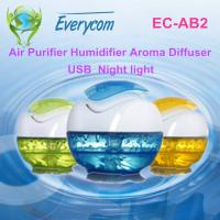 Quality Hotel USB Pocket Water Based Air Purifier with water filtration for sale