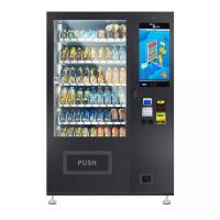 Quality Black Color Drinks Combo Vending Machine 337~662 Capacity Field Installation for sale