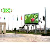 Quality IP65 Rgb Smd / Dip Video Led Column Display,10mm Led Screen For Outdoor Advertising for sale