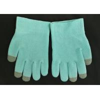 Quality Blue Colour SPA Cotton Cosmetic Gloves Highly Effective Softening Hands for sale