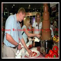 China Hot sale stainless steel chocolate fondue fountain machine on sale