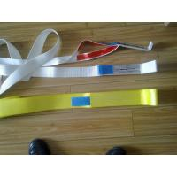 Quality 7 To 1 Safety Factor Lifting Slings , 3000kg Webbing Lifting Slings With Blue Label for sale