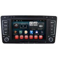 Quality A9 Dual Core Android DVD Player Steering Wheel Control iPod for Skoda Octavia for sale