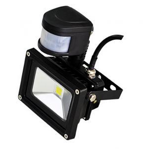 China 20W waterproof IP65 LED flood light with PIR sensor Epistar/Bridgelux chip CE ROHS approved on sale