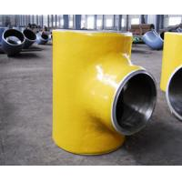 Quality butt weld fittings pipe tee for sale