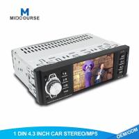 Quality Universal Single Din Multimedia Player Mp5 Video Player Mp4 Mp3 Radio With Bluetooth USB AUX for sale