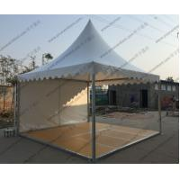 Quality Removable Floor System High Peak Tents White Color Aluminum Frame For Trade Show for sale