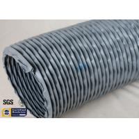 Quality PVC Coated Fiberglass Fabric Waterproof Flexible Ventilation Air Duct 200MM 260℃ for sale