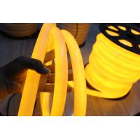 Best hot sale decorative yellow 24v 360degree round led neon flexible lights wholesale
