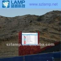 Quality 3096 pixels/sqm Full Color dot matrix LED display for sports with 90 ~ 260VAC , 50 / 60Hz for sale