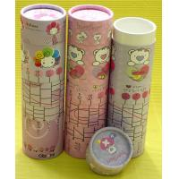 China Environment-friendly Recycled Colurful Customized Paper Tubes with Body Removing on sale