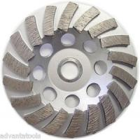 Buy cheap diamond sprial cup wheel from wholesalers