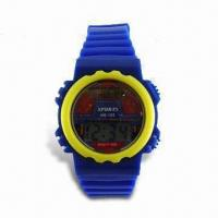 Quality LCD Plastic Watch, Available for Gent's and Ladies' Size for sale