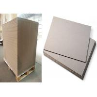 China Gray Color Strawboard Paper in 1100gsm / 1.78mm Laminated Paperboard on sale